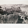 The south eastern wall of Jerusalem & Mount of Olives