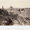 The site of the temple, Jerusalem, from Mount Zion