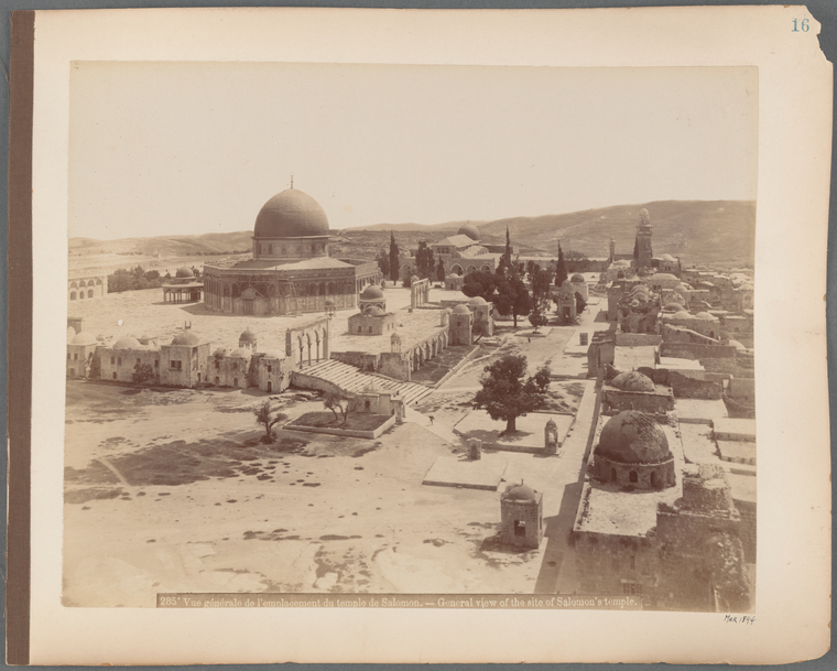Fascinating Historical Picture of Masjid al-Aqsa in 1894