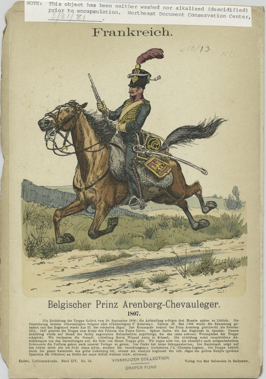Le 27º chasseurs a cheval Digital ID: 85468. New York Public Library