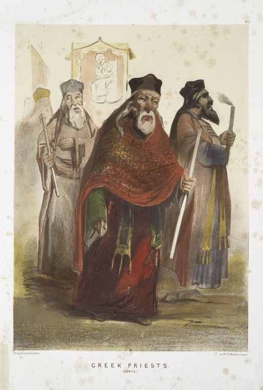 Fascinating Historical Picture of Orthodoxos Ekklesia tes Hellados in 1854