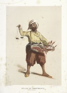 Seller of Sweetmeats, Constant... Digital ID: 85975. New York Public Library