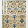 Architecture: ornementation des plafonds : légendes et symbols (nécropole de Thèbes : XVIIIe. dynastie)