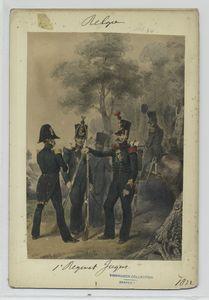 1' Regiment Jagers.