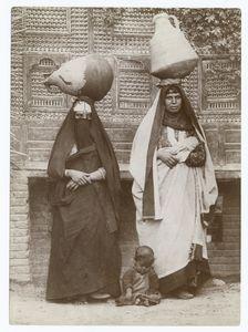 Fellah women, Egypt.
