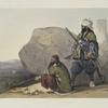 Afghaun foot soldiers in their winter dress