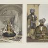 Ladies of Caubul in their in and out-of-door costume; Gool Mahommed Khaun King of the Ghilgies