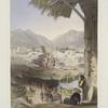 City of Kandahar, its principle bazaar and citadel, taken from the nakarra khauneh, or royal band room