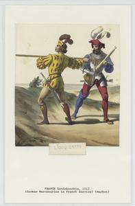 Lansquenets. [1512]