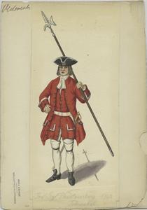 Inf. Rgt. Württemberg 1703 Feldwebel