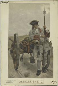 Artillerie, 1710
