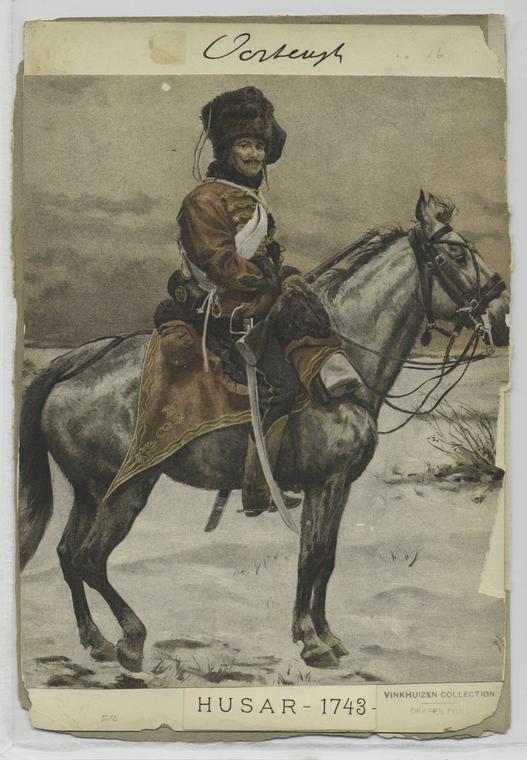 Fascinating Historical Picture of Rudolf von Ottenfeld in 1741