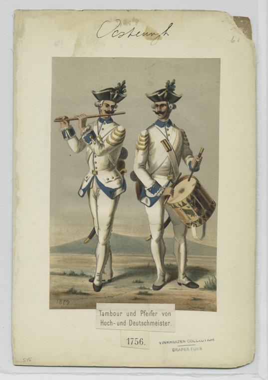 Fascinating Historical Picture of Wilhelm von Zimburg in 1741