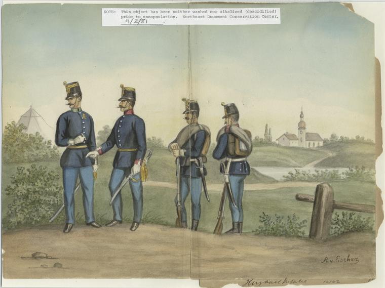 Ungarisch. Infanterie.