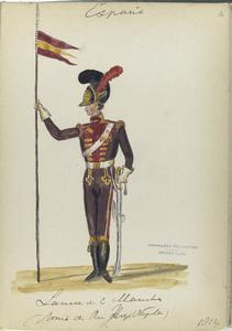 Lancier [?] .  (Armee se Reg. Joseph Napoleon). 1812