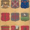 Armas de los Tergios Departmentales Llamados, Grandes Viejos, I. Africa, II. Principe, III. Corona, IV. Galicia V. Napoles, VI. Zaragoza, VII. Córdova VIII. Zamora IX. Soria