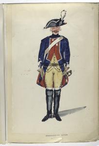 Regiment Gardes te Paard. 1753