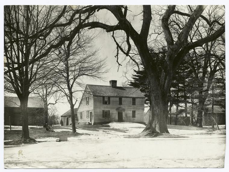 John Cook House, Hadley, Mass., built about 1700.
