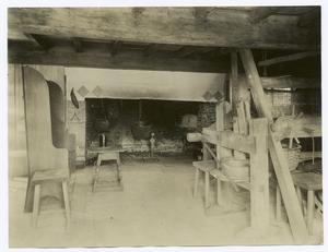 Reconstructed Colonial Interior.