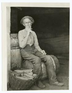 A Cape Cod Fisherman. Digital ID: 92283. New York Public Library