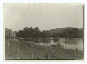 Scene of the Defeat of Dragging Canoe, Long Island Flats, Tennessee.