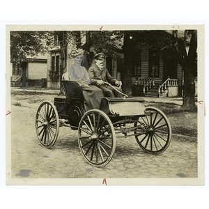 The first Buick, 1904.