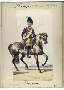 Dragonder. 1757 Digital ID: 92960. New York Public Library