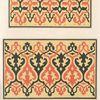Marmor Bänder zivifchen den Wandflächen in dem Grabgebäude des Sultan Chairbeck zu Kairo