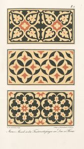 Marmor-Mosaik in den Fenstervertiefungen am Dom zu Florenz