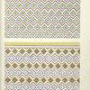 9. Plafond du Tombeau de Hapousenb (n° 67), 10. Plafond du Tombeau D'amounzeh (n° 84)