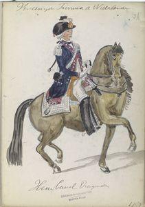 Hessen-Cassel Dragonders. 1787 Digital ID: 93342. New York Public Library
