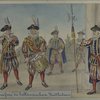 """Cent Suisses"""" des holländischen Statthalters."""