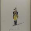Garde du Corps. 1784