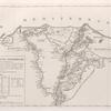 Carte de l'Egypte inferieure.
