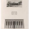 1. Tente d' Arabes. 2. Plan de Portique. 3. Portique du temple de Latopolis  à Esnê.