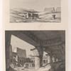 1. Le Typhonium d'Apollinopolis. 2. Intérieur du temple d'Apollinopolis à Edfoù.