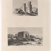 1. Ruines de la porte d'un temple d'Eléphantine. 2. Ruines d'un des temples d'Eléphantine.