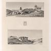 1. Ruines d'un temple à Syéné. 3. Ruines d'un des temples de l'isle Eléphantine.
