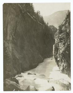 Canyon of Fraser River