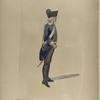 Nationale Guarde der Stad Amsterdam. Corporaal - tamboer  van de  Infanterie. 1795