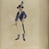 Nationale Guarde der Stad Amsterdam.  Hoornblazer der Jagers. 1795