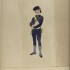 Nationale Guarde der Stad Amsterdam. Artillerist. 1795