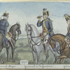 General Major, General der Infanterie, General Lieut. 1795