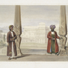 A Dooranee noble and his attendant at the palace, Candahar