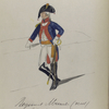 Vereenigde Provincien der Nederlander. Regiment Munitie (rood). [...] Wenge[?].