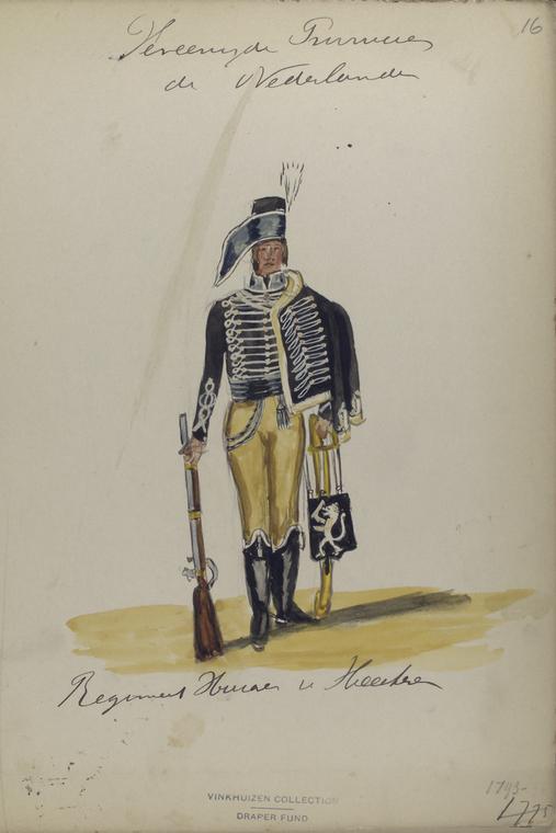 Vereenigde Provincien der Nederlander. Regiment [...].