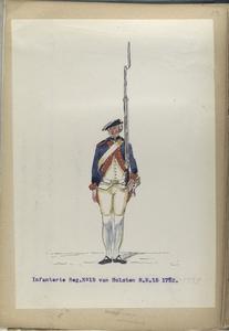 Infanterie Reg. No.15  van Holsten  R. N. 15.   1752-1795