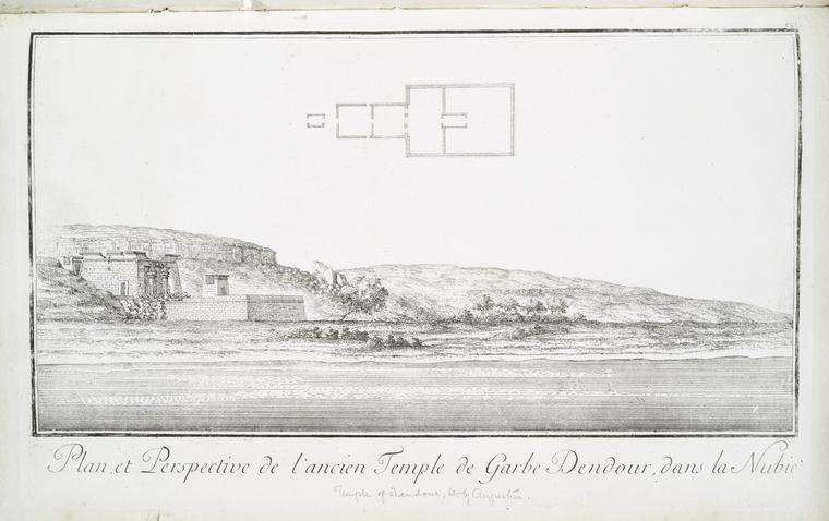 This is What Temple of Dend�r Looked Like  in 1780
