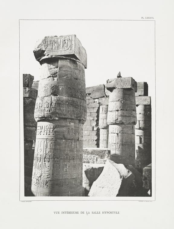 This is What Temple of Amon Looked Like  in 1887