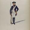 Vereenigde Provincien der Nederlanden. [...] Infanterie van Riedesel (B...). V... Kol. van Spetti [?].